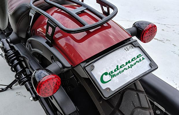 Cadence Motorsports 2018 Indian Scout Bobber Tag Mount